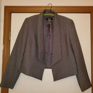 Nine west grey suit blazer